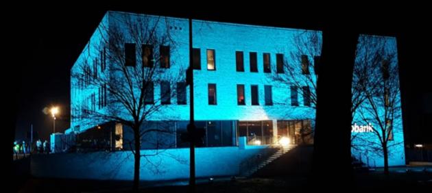 Bijzondere verlichting bij de ALV 2017